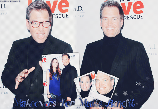 -12.01.12- Michael Weatherly était présent au Makeovers For Mutts Benefit avec sa femme Bojana