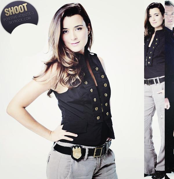 Une nouvelle photo individuelle de Ziva David du shoot de la saison 8 de NCIS vient de faire son apparition