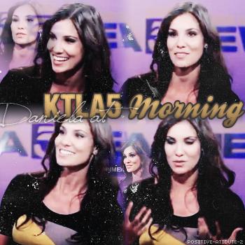 -27.02.12- Daniela Ruah était l'invité de l'émission de KTLA5 Morning