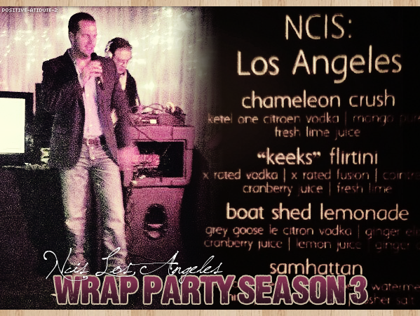 Chris O'Donnell et le reste du cast étaient présent comme l'année dernière à la Wrap Party de la Saison 3