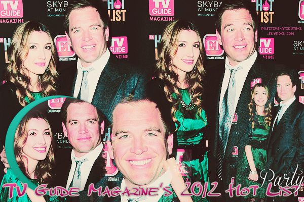 12/11/12 - Michael et Bojana Weatherly étaient présent au TV Guide Magazine's 2012 Hot List Party