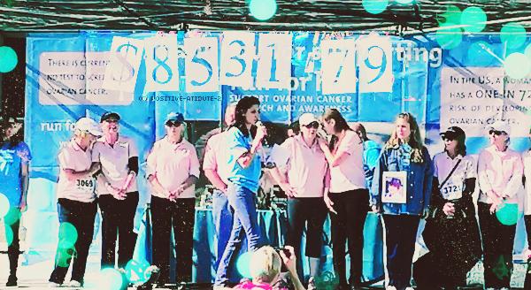 """11/11/12 - Daniela Ruah était présente au 8éme Annual """" Run For Her """" Los Angeles Race"""