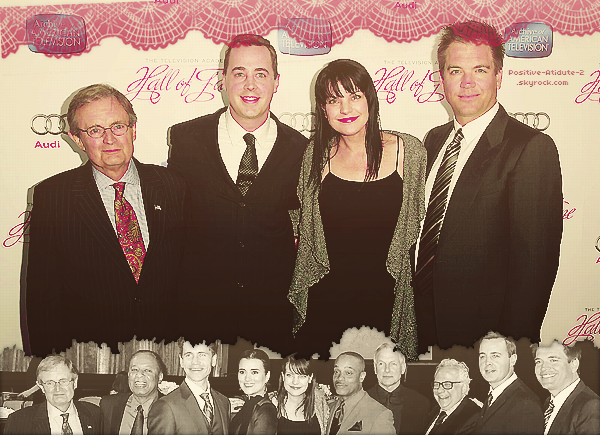 11/03/13 - Michael, Chris, Cote et Daniela au Television Academy's 22nd Annual Hall of Fame