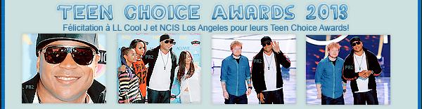 Cote De Pablo pose pour Latina Magazine + LL Cool J au Teen Choice Awards 2013 + Spoilers.