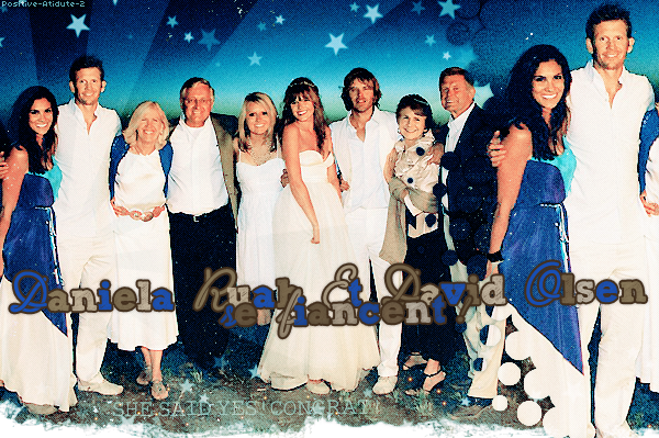 """Daniela Ruah annonce au magazine """"CARAS"""" qu'elle va se marier avec son chéri, David Paul Olsen en 2014!"""