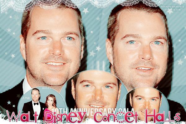 30/09/13 - Chris O'Donnell et sa femme étaient au 10éme Anniversaire de Walt Disney Concet Hall's