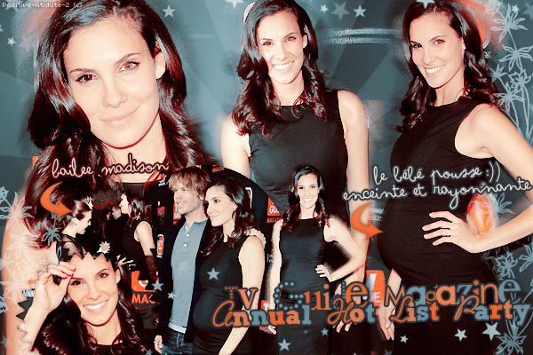 04/11/13 - Daniela Ruah et son jolie ventre rond était présente au TV Guide Magazine Annual Hot List Party