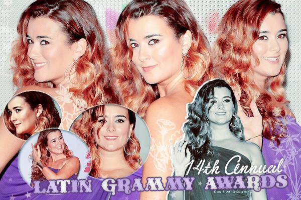 21/11/13 - Notre belle Cote De Pablo était présente au 14éme Annuel Latin Grammy Awards à Las Vegas.