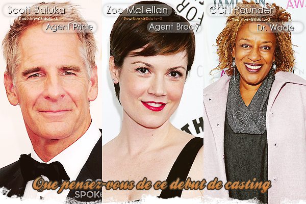 Découvrez les acteurs qui intégrerons le casting du nouveau spin off de NCIS, NCIS Nouvelle Orléans.