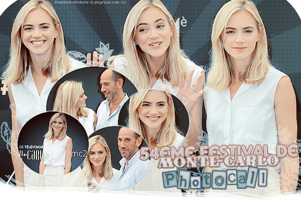 07-11/06/14 - Emily Wickersham été présente au 54éme Festival de Monté-Carlo avec Miguel Ferrer