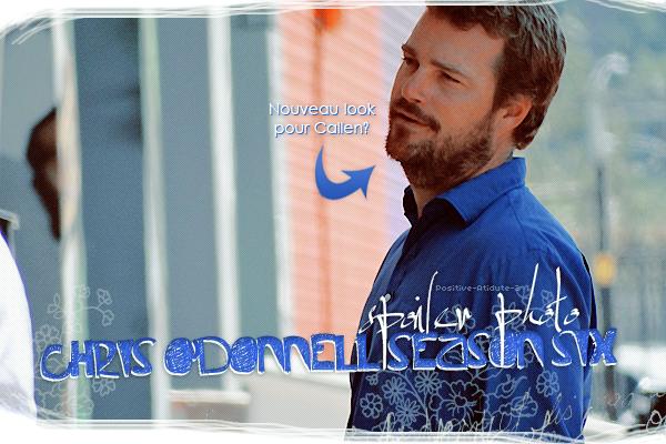 04/08/14 - Chris O'Donnell a été vu sur le première jour de tournage de la saison 6 dans Willow Street.