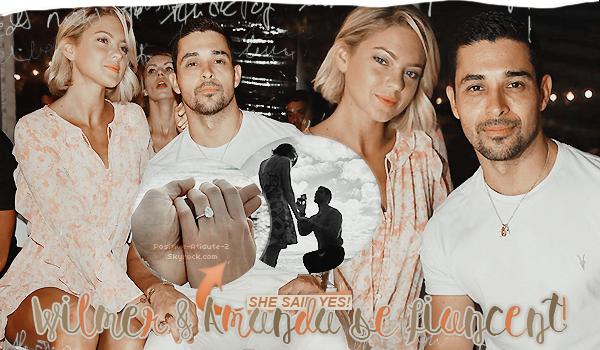 01/01/2020 - Wilmer Valderrama et sa chérie Amanda se fiancent pour la nouvelle année!