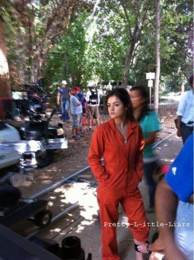 Photos du tournage et de l'épisode 2x14