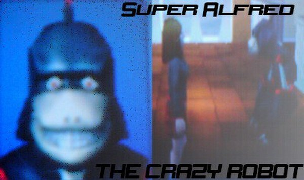 Super Alfred, le Robot Fou