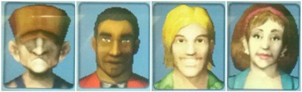 Habitants, personnages secondaires et secrets