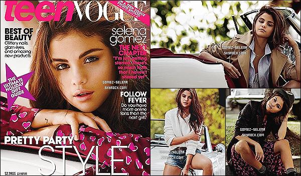 Découvrez quelques clichés de  « TEEN VOGUE » ainsi que la couverture pour décembre 2013 Selena est très jolie sur les peu nombreux clichés disponibles. Malheureusement elle est très retouchée... Tu aimes bien?