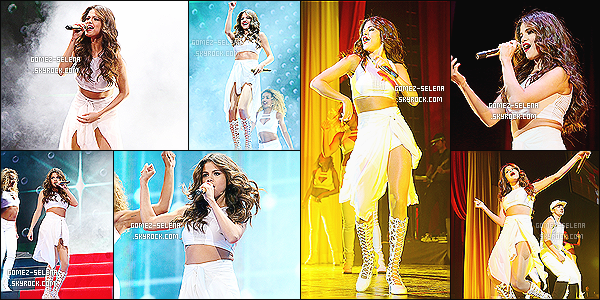 01/11/13 : Ce soir-là, Selena Gomez donnait un concert du « Stars Dance Tour » à San Antonio - au Texas.    Ci-dessous découvrez une partie des performances disponible de ce concert. Donnez-moi vos avis sur les chansons de miss Selena G.