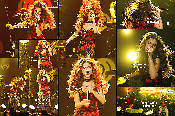 08/12/13 : Enchaînant les Jingle Ball 2013, Selena était présente à celui de Seattle organisé par 106.1 KISS FM !  Encore une fois, il y a eu son arrivée, un interview, puis un Meet&Greet pour finir avec une performance (sans sa perruque, enfin)