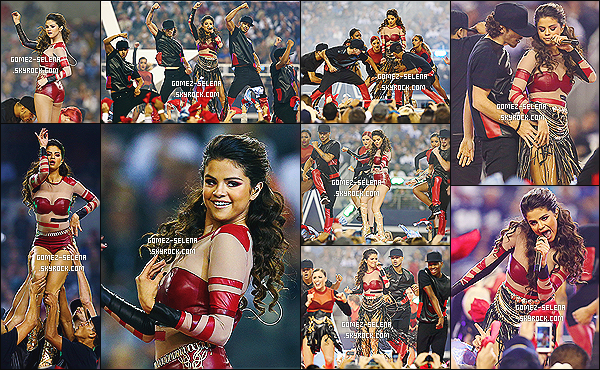 28/11/13 : À l'occasion de Thanksgiving, Selena G. a performé à la mi-temps du match des Cowboys à Dallas !   Sel a enchaîné sa prestation avec sa chanson Like A Champion, et puis Slow Down ainsi que pour finir avec son titre Come & Get It