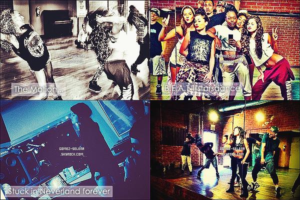 15/07/13 : Selena a été de nouveau aperçue allant dans un studio de danse qui se trouve dans Los Angeles   Selena en a profité pour s'arrêter au fast-food américain Jack In The Box. Depuis son retour sur instagram, Selly a posté 5 photos