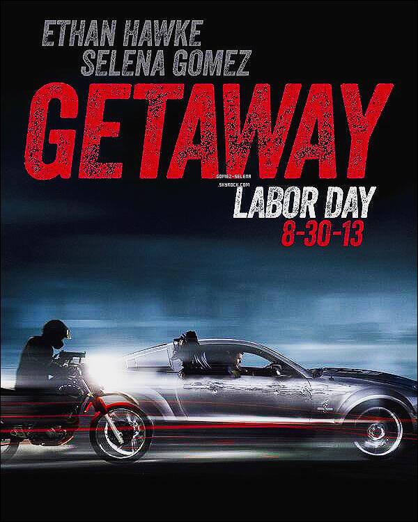 Découvrez un tout nouveau poster de « The Getaway » le prochain film de Selena G.