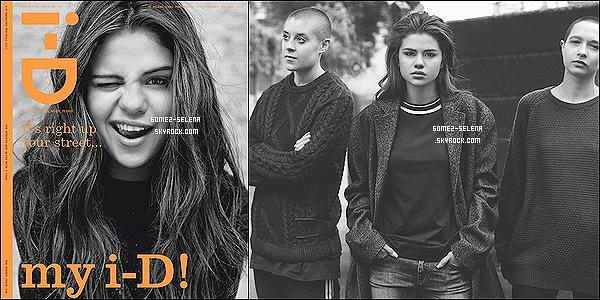 « I-D MAGAZINE  »                                   Voici la couverture ainsi qu'une première photo.