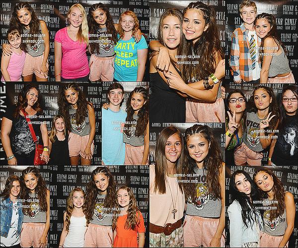 17/08/13 : Meet & Greet de Selena avec ses nombreux « fans » qui s'est tenu après son concert à Edmonton Le prochain concert de Selena se déroulera à Saskatoon au Canada ! Rappel pour le film Getaway sortira le 30 août aux Etats-Unis !