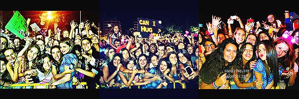 11/09/13 : Lors du Meet & Greet de Lisbonne, Selly a fait la rencontre de ses fans portuguais et a posée avec eux ! Pendant le M&G, mademoiselle Gomez s'est montrée plus proche que jamais de ses fans et on apprécies. - Un moment pleins d'émotions.