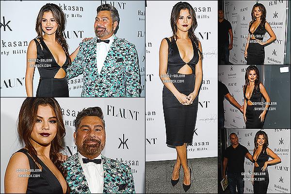 07/11/13 : Selly G. était présente à l'événement annuel du magazine «Flaunt» pour qui elle a fait un photoshoot  La tenue de Selena est sublime, je lui accorde un top pour ma part ! Sel posté une photo de Demi et elle via insta Delena de retours ?