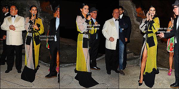 18/07/14 :  Selly a participé à la première de son film Rudderless au « Ischia Global Film and Music» à Ischia. La première a eu lieu à l'Hôtel Regina Isabella, et le film a été projeté sur un grand écran. Pour ce qui est de la tenue à Selly c'est un flop!