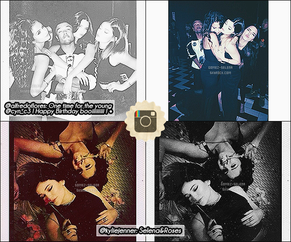 Découvrez plusieurs photos instagram posté sur @selenagomez & d'autres comptes Selena avec son ami Alfredo Flores étaient à l'anniversaire de Christian Combs où Kylie et Kendall Jenner étaient présentes.