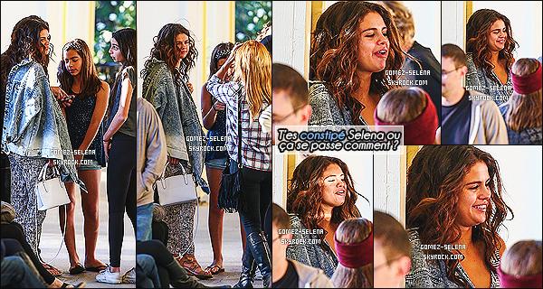 06/04/14 : En fin d'après-midi Selena avec sa famille dont ses cousines, s'est rendu au restaurant Shibuya à LA   Selena G. a été photographié discutant avec sa famille en dehors du restaurant puis finalement en quittant le soir avec une de ses cousine