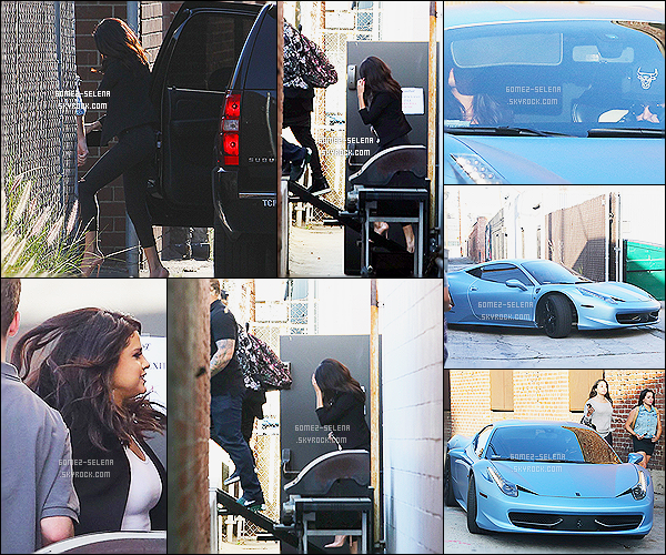 18/06/14 : C'est en compagnie de son (boyfriend?) Justin que  Selena  Gomez  a été aperçue arrivant a un studio. Certains seront plus que content, d'autres pas du tout, mais il semble que le couple Jelena soit belle et bien de retour. T'en penses quoi?