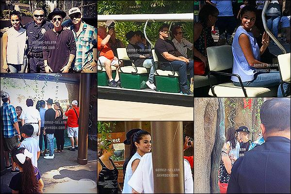 21/06/14 : C'est en  compagnie encore une fois de Justin que Sel' a été vue sortant d'un studio d'enregistrement. Le lendemain, le couple Jelena  a été photographié au zoo avec les grands-parents de Justin  Bieber.   Excusez de la qualité des photos