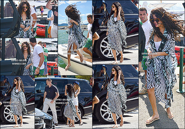 21/07/14 : Selena Gomez passait du temps sur un « yatch » avec sa bonne amie Cara Delevigne à Saint-Tropez. Si il n'y a pas longtemps Selena se trouvait à Monte-Carlo, elle est maintenant en compagnie du mannequin anglais Cara, à Saint-Tropez !