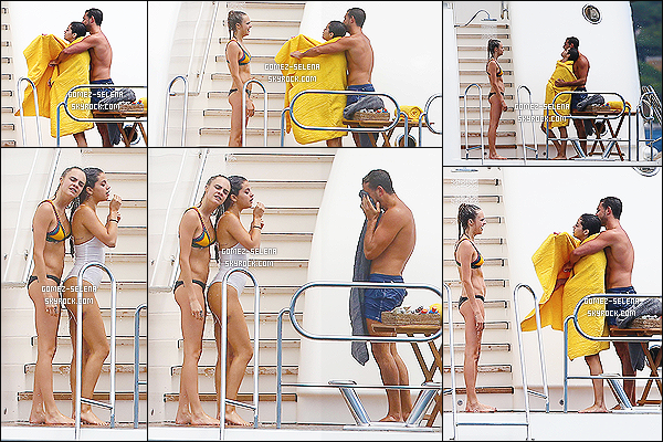 23/07/14 : Encore une fois Selly a été photographié lorsqu'elle était avec ses amis sur un yacht, à Saint-Tropez.  Au cours de la journée, elle a quitté le yacht avec ses amis pour visiter la ville. Que pensez-vous de la complicité entre Selly et Tommy ?
