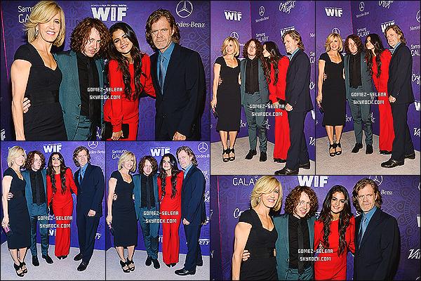 23/08/14 : Selena G et le cast de Rudderless était au « Variety and Women in Film » à West Hollywood, en CA ! Je n'aime pas spécialement la combinaison de Selena, simplement pour l'aspect qu'elle a mais je dois avouer que le rouge le va très bien.