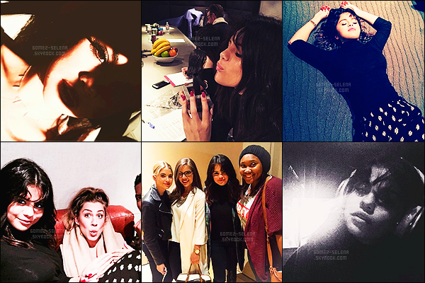 - Toujours active sur Instagram, découvrez les dernières photos de Selena. Avec ces clichés que l'on peut voir qu'elle est de retour en studio - et sans compter qu'elle passe du temps avec ses amis, dont Ashley Benson !  -