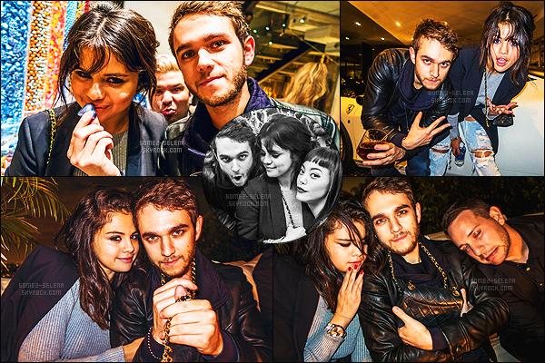 - 09/01/15 : Selena G. et Zedd étaient présents lors du « Notch's Housewarming Soiree » - à Beverly Hills. Après avoir fait des appels spéciaux avec des fans plus tôt dans la journée, ils se sont rendu à la soirée. Dommage qu'on ne voit pas trop sa tenue. -