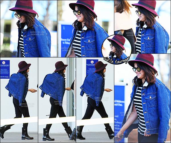 - 19/01/15 : Selena Gomez arrivait sur le tournage du film « The Revised Fundamentals » à Atlanta - au USA. Dans ce film, la belle américaine incarnera le personnage de Dot. Elle a posté des photos sur Instagram, toujours en compagnie de Zedd. Des avis ?! -