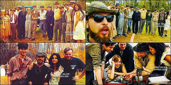 . 27/03/15 - Selena Gomez commençait le tournage du film historique « In Dubious Battle » - à Atlanta ! Le casting du film promet, avec Selena qui rejoint Nat Wolff pour un deuxième film à ses côtés, sans compter le talentueux Josh Hutcherson. Hâte ?! .