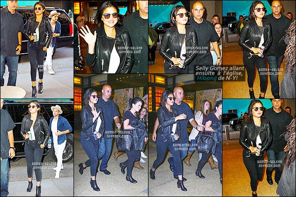 . 03/05/15 - Selena M. Gomez quittait le petit restaurant italien « Locanda Verde », dans New-York City ! Elle a aussi fait un tour à l'église d'Hillsong, puis elle est retournée à son hôtel de résidence, se trouvant en plein c½ur de New-York. Un top ou flop ? .