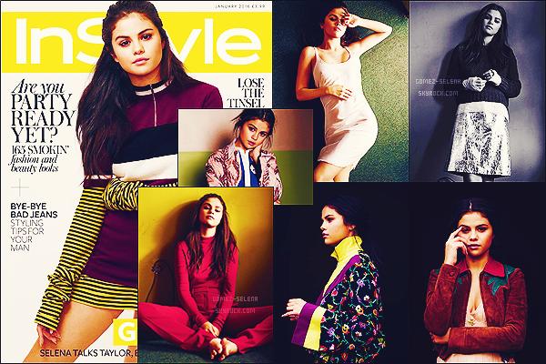 - Découvrez le fabuleux photoshoot pour le célèbre magazine « InStyle » mettant en vedette Selena Gomez !Dans un photoshoot adoptant les couleurs automnale, Selly nous prouve de nouveau son côté photogénique et son incomparable beauté ! T'aimes ?-