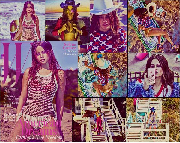 . Découvrez un photoshoot de Selena Gomez pour « W Magazine » du mois de mars ! .