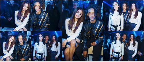 - 09/03/16 - Selena Gomez assistait au défilé de la marque « Louis Vuitton » lors de la fashion-week de Paris ![/s#00000ize]Lors de ce défilé, notre chanteuse était assise aux côtés de son ami de longue date, Jaden Smith. Un sans faute pour la tenue portée par Selena ... -