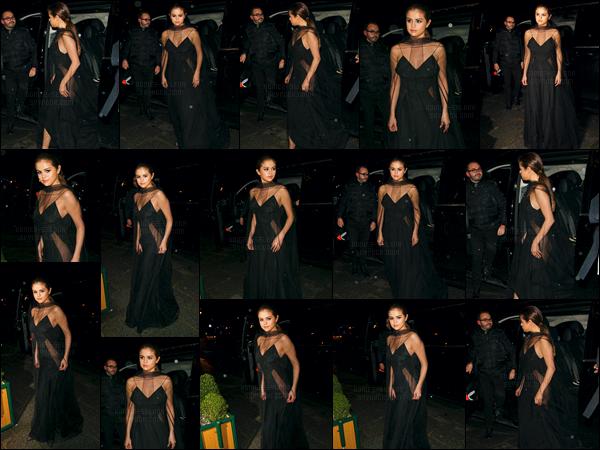 - 09/03/16 - Selena Gomez se rendait au dîner organisé par la marque « Louis Vuitton » toujours dans Paris ![/s#00000ize]'Cette fois-ci, notre chanteuse a enfilé une somptueuse robe noire - sans aucun doute de la marque Louis Vuitton qu'elle chérit tout particulièrement. -