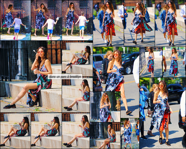 - 01/06/16 - Selena Gomez a été photographiée alors qu'elle quittait son hôtel se situant dans New-York City ![/s#00000ize]Le Revival Tour se poursuit donc aux États-Unis à présent toujours en compagnie du groupe de Joe Jonas, DNCE ! Une tenue estivale est de mise...  -