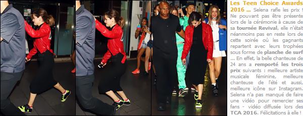 - 03/08/16 - Selly Gomez se baladait en compagnie de quelques un de ses amis dans les rues de Tokyo au Japon[/s#00000ize]Une tenue qui s'annonçait vraiment pas mal ... Jusqu'à temps qu'on en tombe à ses chevilles ! Les baskets et les soquettes avec une robe c'est out ! -
