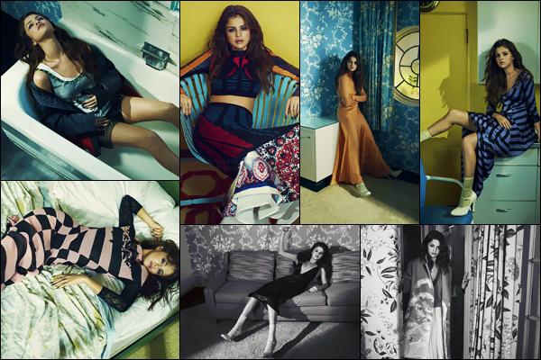 - ─ Découvrez l'intégralité du photoshoot pour « Vogue Australia » qui met en vedette la belle Selena Gomez ! [/s#00000ize]De nouvelles photos issues de ce photoshoot ont été dévoilées tout récemment sur la toile ! N'hésitez surtout pas à donner vos avis sur les clichés...  -