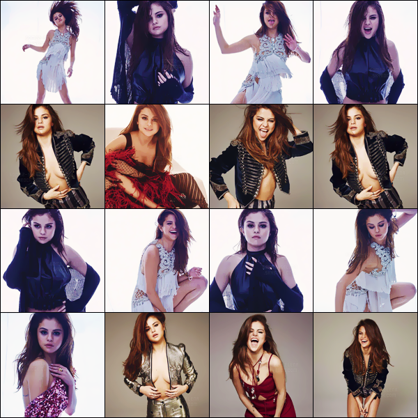 - ─ Découvrez les nombreux nouveaux clichés du magazine « Marie Claire » du mois de juin dernier (2016) [/s#00000ize]Même si ce photoshoot date de quelques mois, de nouvelles photos ont été dévoilées - c'est une Selena G. très photogénique que l'on retrouve ici ...  -